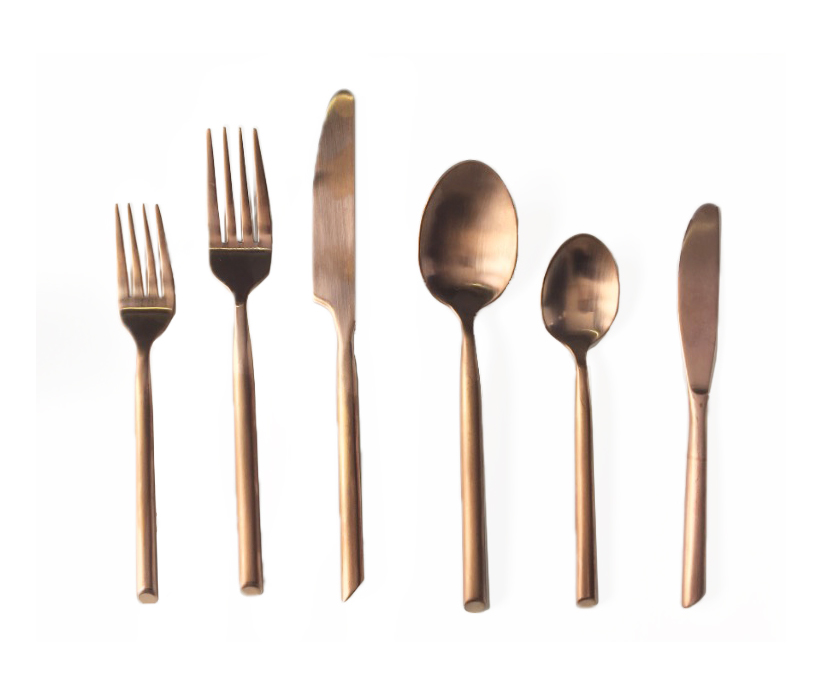 Copper flatware full size of flatware care almoco copper flatware review copper flatware - Almoco flatware ...